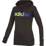 adidas Women's Ultimate Fleece Logo Pullover Hoodie