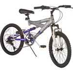 "Ozone 500® Girls' Ultra Shock 20"" 7-Speed Mountain Bicycle"