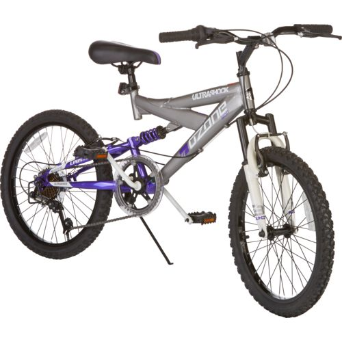 Ozone 500® Girls' Ultra Shock 20' 7-Speed Mountain Bicycle