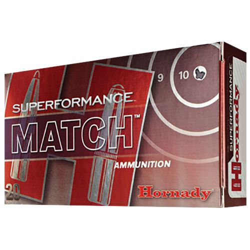 Hornady Superformance Match .308 Win./7.62 NATO 168-Grain