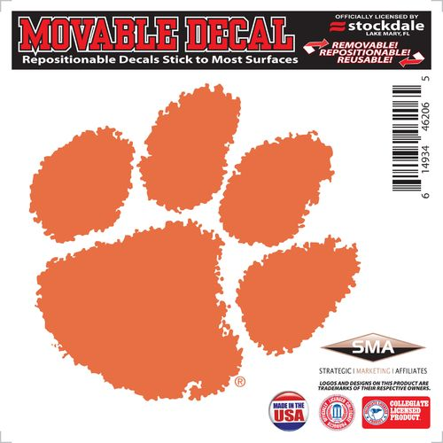 Stockdale Clemson University 6' x 6' Decal