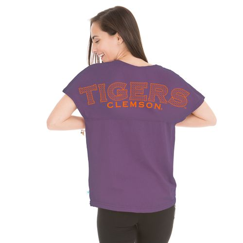 Henley Women's Clemson University Callie Game Day T-shirt