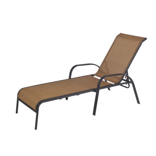 Mosaic™ Oversize Sling Stacking Chaise Lounge