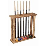 Triumph Sports USA Rush Creek 6-Cue Floor Rack