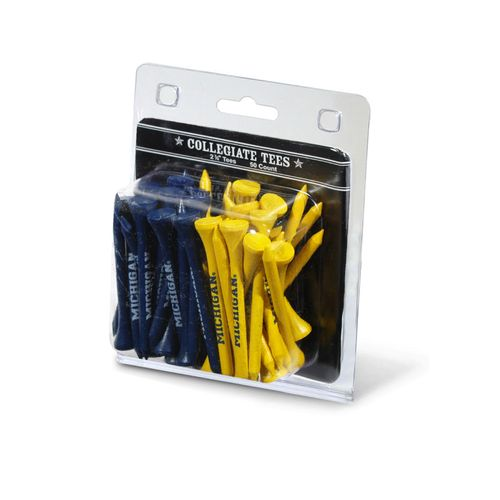 Team Golf University of Michigan Golf Tees 50-Pack