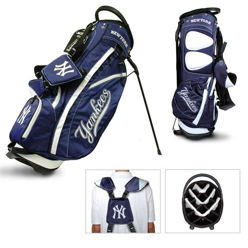 Team Golf New York Yankees Fairway 14-Way Stand Golf Bag