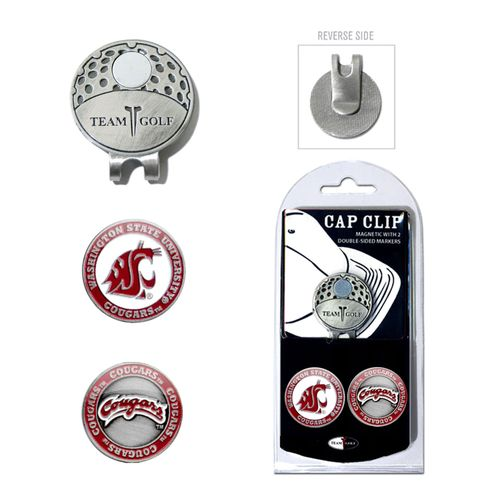 Team Golf Washington State University Marker Cap Clip