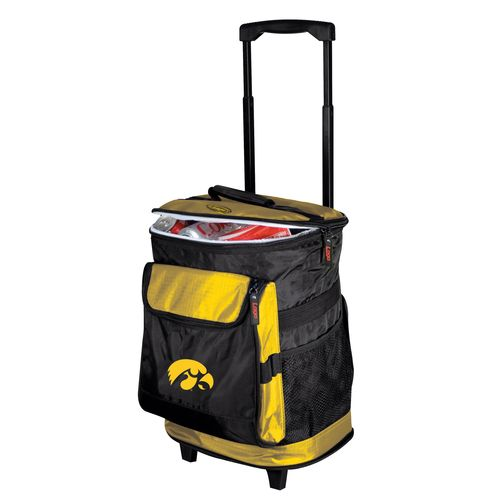 Logo™ University of Iowa 48-Can Rolling Cooler - view number 1