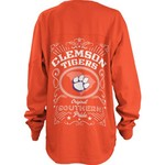Three Squared Women's Clemson University Big Shirt