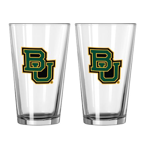 Boelter Brands Baylor University Game Day 16 oz. Pint Glasses 2-Pack