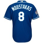 Majestic Men's Kansas City Royals Mike Moustakas #8 World Series Replica Jersey