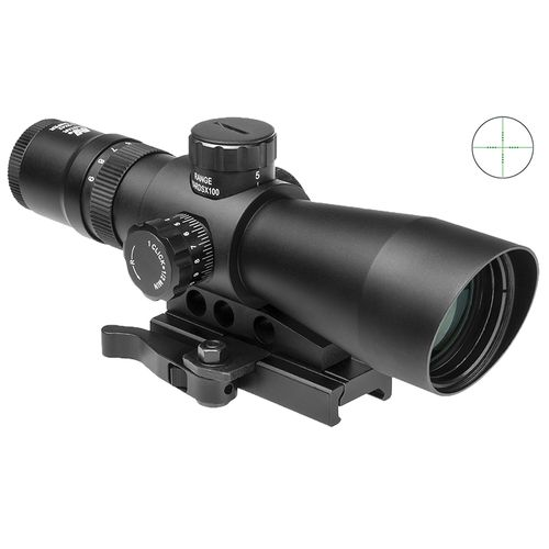NcSTAR Mark III 3 - 9 x 42 Tactical Series Riflescope