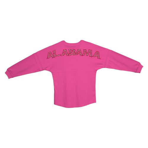 Boxercraft Women's University of Alabama Pom Pom Long Sleeve Jersey