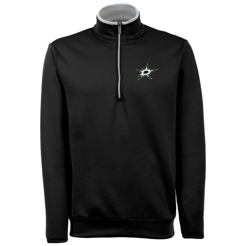 Antigua Men's Dallas Stars Leader 1/4 Zip Pullover