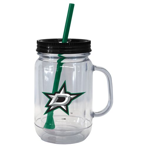 Boelter Brands Dallas Stars 20 oz. Handled Straw Tumblers 2-Pack