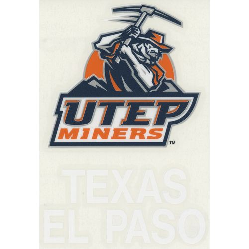 "Stockdale University of Texas at El Paso 4"" x 7"" Decals 2-Pack"