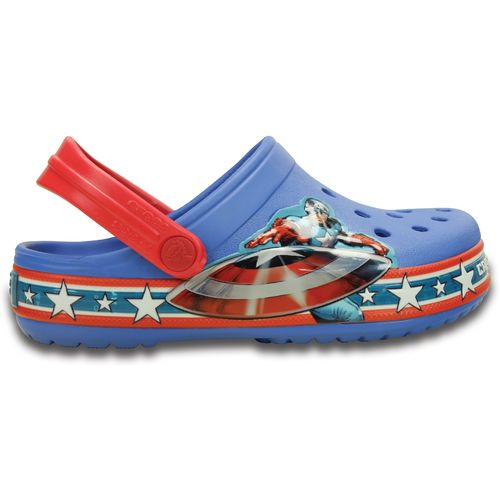 Crocs™ Kids' Crocband™ Captain America™ Clogs