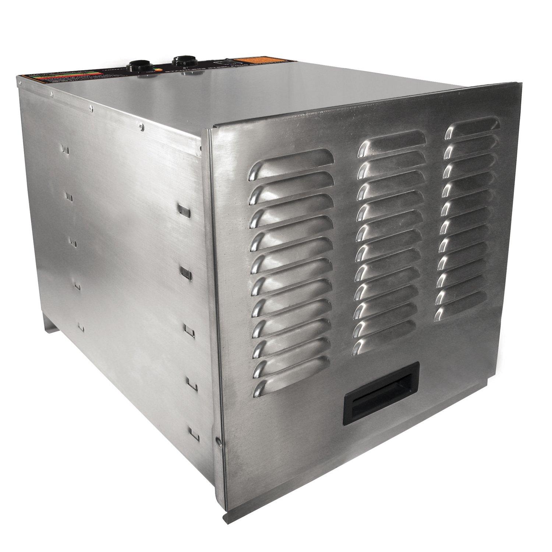 Weston Pro-1000 Stainless-Steel 10-Tray Food Dehydrator