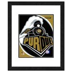 "Photo File Purdue University Logo 16"" x 20"" Matted and Framed Photo"
