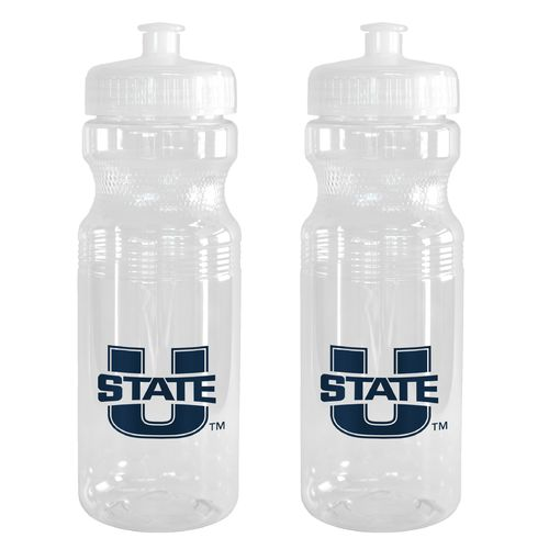 Boelter Brands Utah State University 24 oz. Squeeze Water Bottles 2-Pack
