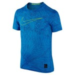 Nike Boys' Pro Cool Fitted Short Sleeve T-shirt - view number 1