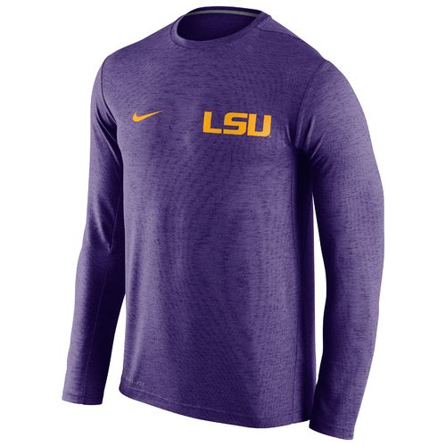 Nike™ Men's Louisiana State University DF Touch Long Sleeve T-shirt