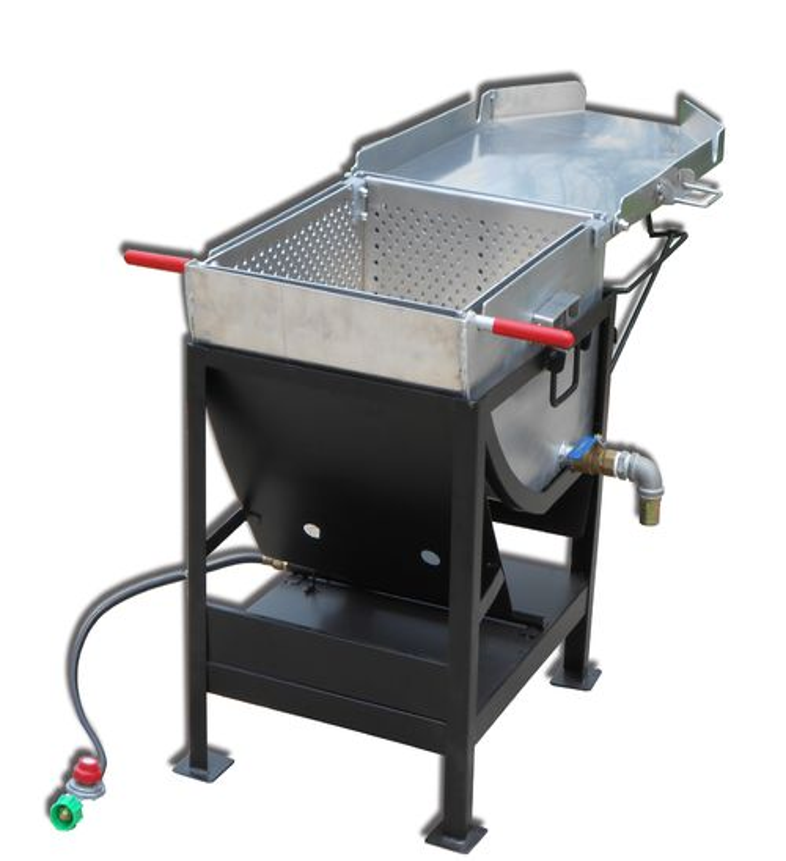 Fryers thanksgiving turkey fryer electric fryers for Outdoor fish fryers propane