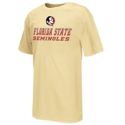 Colosseum Athletics Boys' Florida State University Pixel Short Sleeve T-shirt