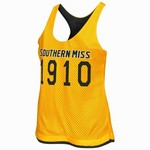 Colosseum Athletics Women's University of Southern Mississippi Triple Crown Reversible Tank Top