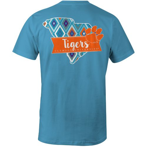 Image One Women's Clemson University Comfort Color T-shirt
