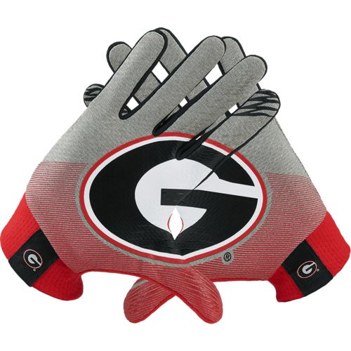 Nike Adults' University of Georgia Stadium Football Gloves