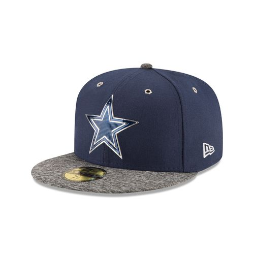New era men 39 s dallas cowboys onfield draft fitted hat for Dallas cowboys fishing hat