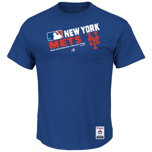 Majestic Men's New York Mets On Field Team Choice T-shirt