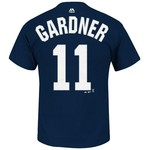 Majestic Men's New York Yankees Brett Gardner #11 T-shirt