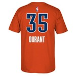 adidas™ Men's Oklahoma City Thunder Kevin Durant #35 Game Time High Density T-shirt