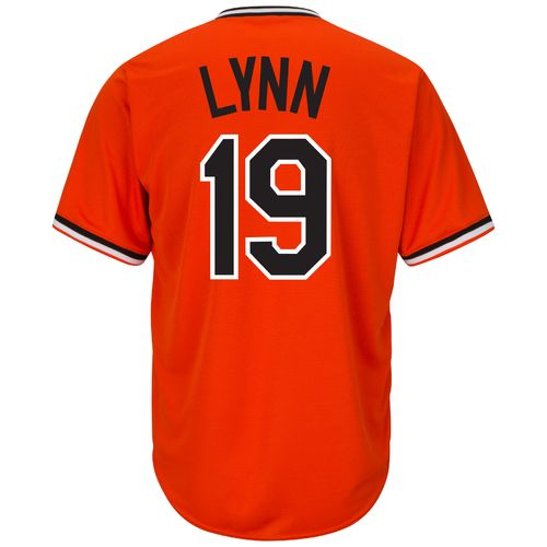 Majestic Men's Baltimore Orioles Fred Lynn #19 Cooperstown Cool Base 1965-66 Replica Jersey