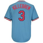 Majestic Men's Minnesota Twins Harmon Killebrew #3 Cooperstown Cool Base 1965 Replica Jersey