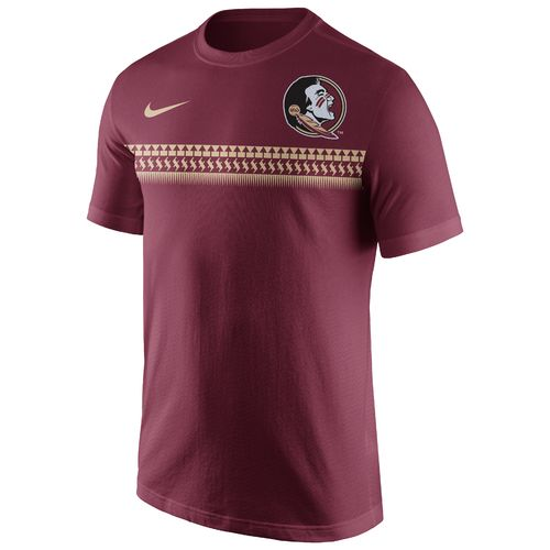 Nike Men's Florida State University Cotton Team Stripe T-shirt