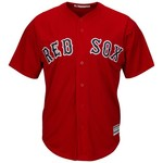 Majestic Men's Boston Red Sox #24 Cool Base Replica Jersey - view number 2