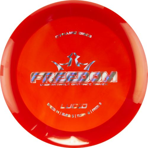 Dynamic Discs Lucid Freedom 14-Speed Understable Golf Disc