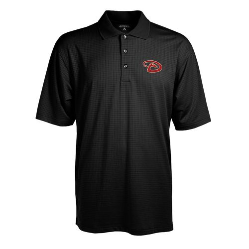 Antigua Men's Arizona Diamondbacks Phoenix Pointelle Polo Shirt