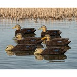 Avian-X Topflight Black Duck Decoys 6-Pack - view number 1