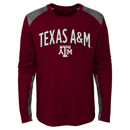 NCAA Boys' Texas A&M University Ellipse Long Sleeve