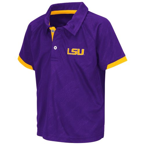 Colosseum Athletics™ Toddlers' Louisiana State University Spiral Polo Shirt