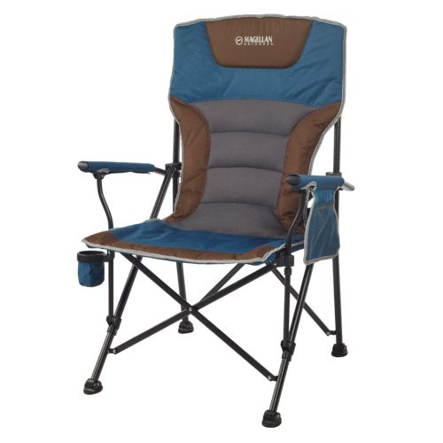Magellan Redwoods High Back Hard Arm Chair