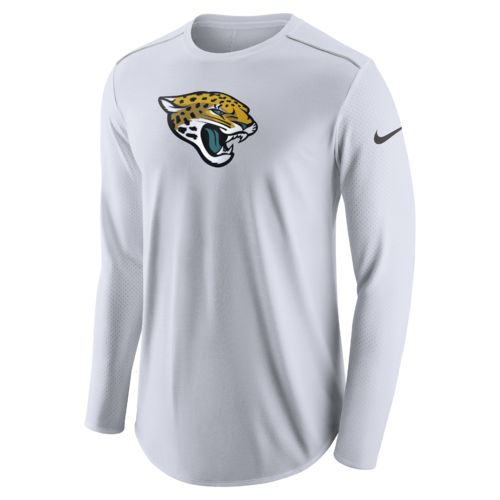 Nike Men's Jacksonville Jaguars Long Sleeve Player Top - view number 1