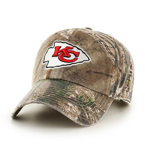 '47 Kansas City Chiefs Realtree Camo Cleanup Cap