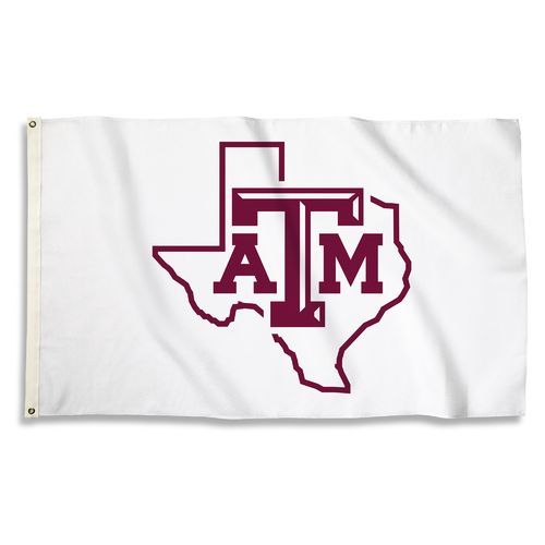 BSI Texas A&M University 3'H x 5'W State Logo Flag