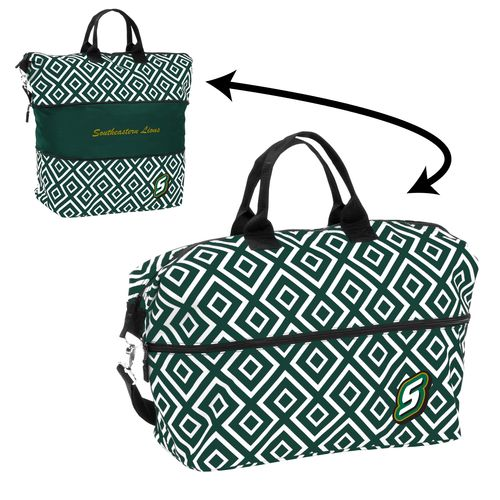 Logo™ Women's Southeastern Louisiana University Double Diamond Expandable Tote Bag