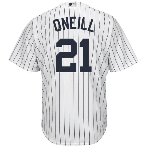 Majestic Men's New York Yankees Paul O'Neill #21 Cool Base Replica Jersey